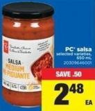 PC Salsa - 650 mL
