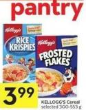 Kellogg's Cereal Selected 300-553 g