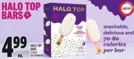 Halo Top Bars 4 X 88 ml