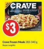 Crave Frozen Meals 283-340 g