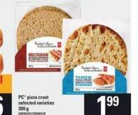 PC Pizza Crust - 300 g