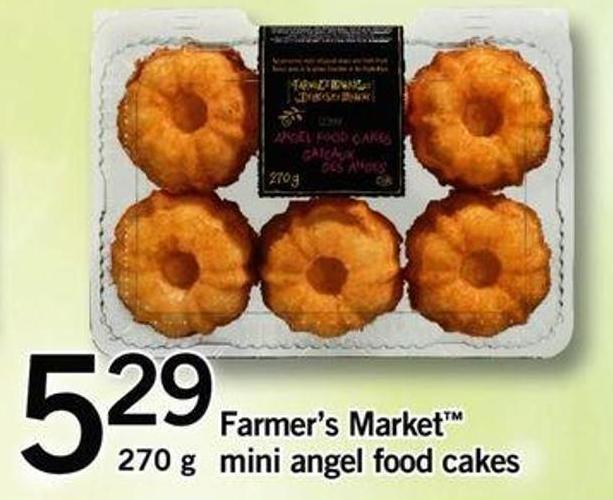 Farmer's Market Mini Angel Food Cakes