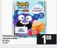 Schneiders Lunchmate Stackers Or Kits - 81-132 g