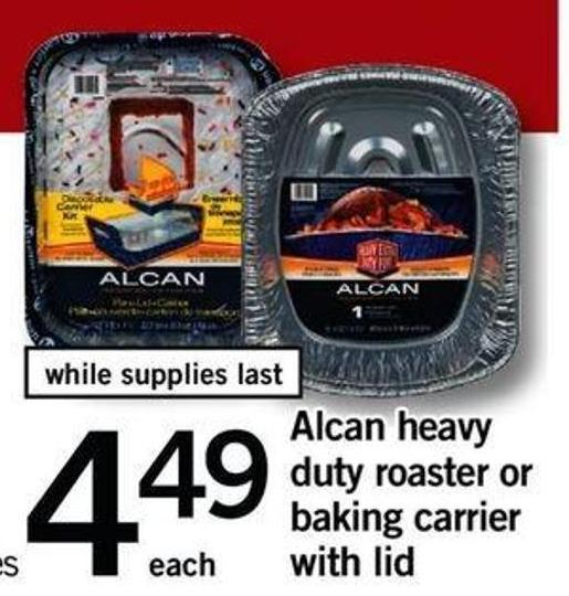 Alcan Heavy Duty Roaster Or Baking Carrier With Lid