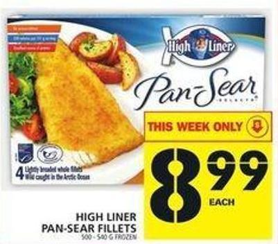 High Liner Pan-sear Fillets