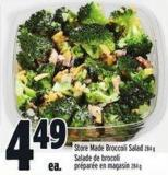 Store Made Broccoli Salad