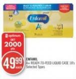 Enfamil A+ Ready-to-feed Liquid Case 18's