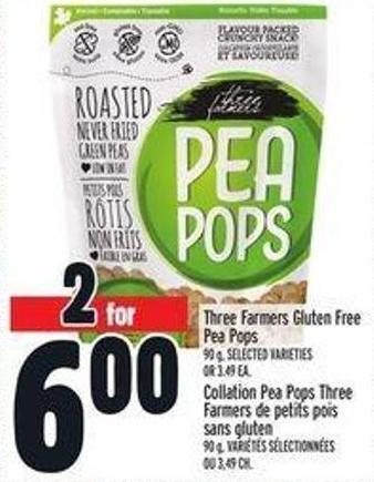 Three Farmers Gluten Free Pea Pops