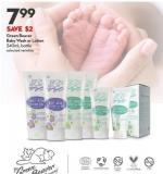 Green Beaver Baby Wash or Lotion