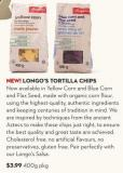 New! Longo's Tortilla Chips 400 g