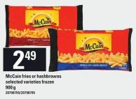 Mccain Fries Or Hashbrowns - 900 g