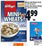 Kellogg's Mini-wheats Cereal 700 g