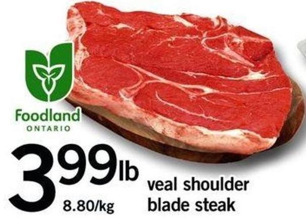 Veal Shoulder Blade Steak