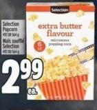 Selection Popcorn 492 Or 564 g