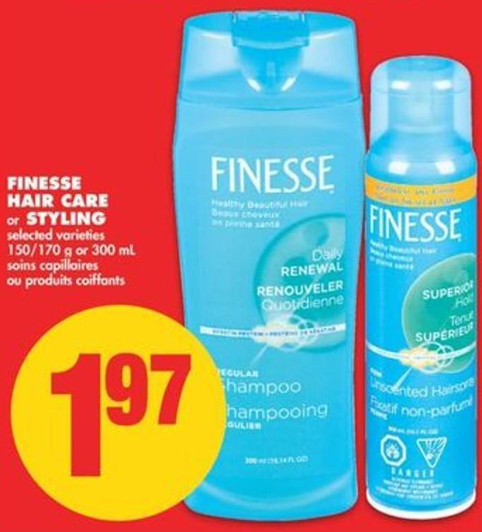 Finesse Hair Care or Styling - 150/170 g or 300 mL