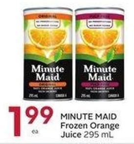 Minute Maid Frozen Orange Juice 295 mL