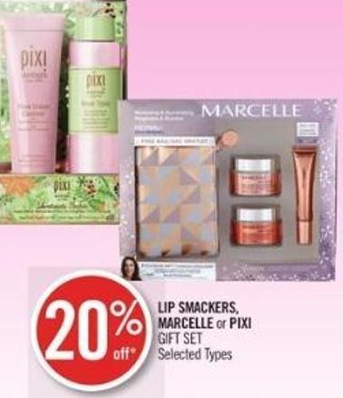 Lip Smackers - Marcelle or Pixi Gift Set