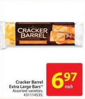 Cracker Barrel Extra Large Bars