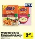 Uncle Ben's Bistro Express - Rice & Grains - 240-250 g