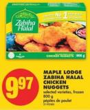 Maple Lodge Zabiha Halal Chicken Nuggets - 800 g