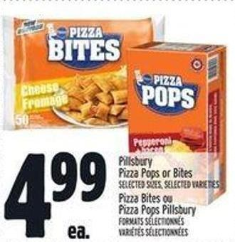 Pillsbury Pizza Pops Or Bites
