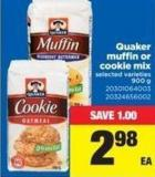 Quaker Muffin Or Cookie Mix -  - 900 g