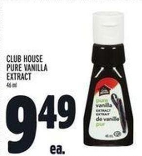 Club House Pure Vanilla Extract