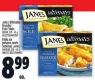 Janes Ultimates Breaded Fish Fillets