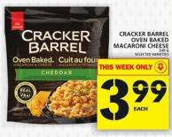 Cracker Barrel Oven Baked Macaroni Cheese
