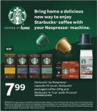 Starbucks By Nespresso Capsules 10 Count - Starbucks Packaged Coffee - 340g And Starbucks K-cup PODS - 10 Count