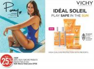 Vichy Idéal Soleil Sun Care Products