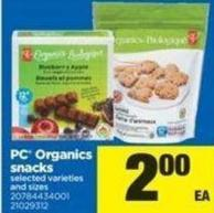 PC Organics Snacks