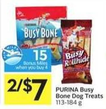 Purina Busy Bone Dog Treats - 15 Air Miles Bonus Miles