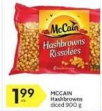 Mccain Hashbrowns