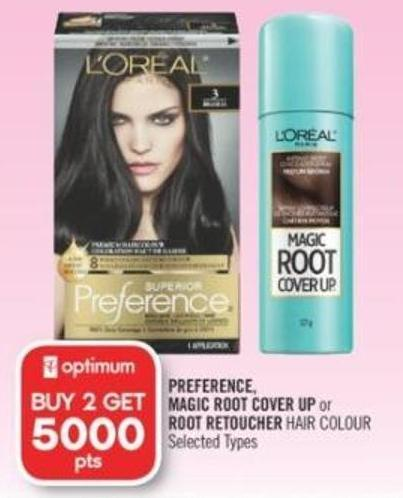 Preference - Magic Root Cover Up or Root Retoucher Hair Colour