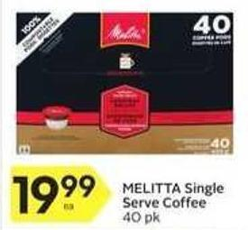 Melitta Single Serve Coffee
