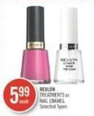 Revlon Treatments or Nail Enamel