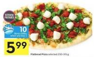 Flatbread Pizza Selected 230-315 g - 10 Air Miles Bonus Miles