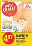 St-hubert or Swiss Chalet Meat Pies - 650-800 g