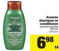 Aveeno Shampoo Or Conditioner - 354 mL