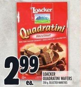 Loacker Quadratini Wafers