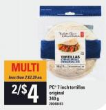 PC 7 Inch Tortillas - Original - 340 g