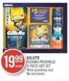 Gillette Fusion5 Proshield 3-piece Gift Set