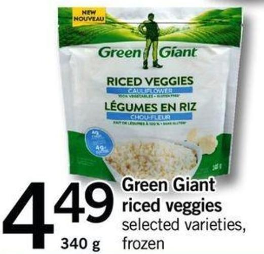 Green Giant Riced Veggies.340 G