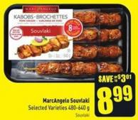 Marcangelo Souvlaki Selected Varieties 480-640 g
