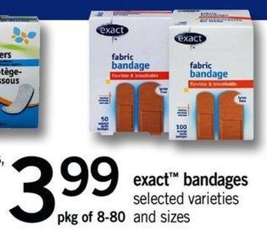 Exact Bandages - Pkg Of 8-80