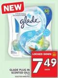 Glade Plug In Scented Oils 1 - 2's