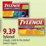 Tylenol  Cough - Cold & Flu Relief