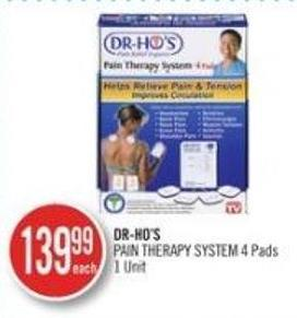 Dr-ho's Pain Therapy Systems 4 Pad