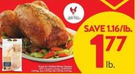 Fresh Air-chilled Whole Chicken 100% Canadian Chicken.